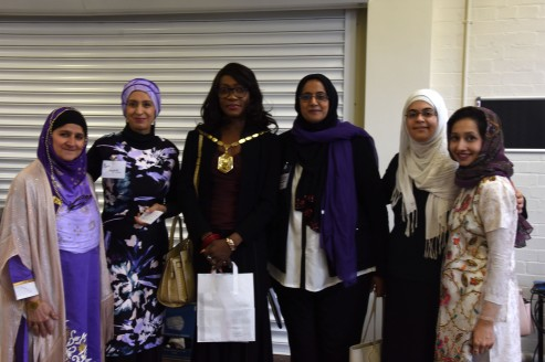 MWM team with Mayor of Merton