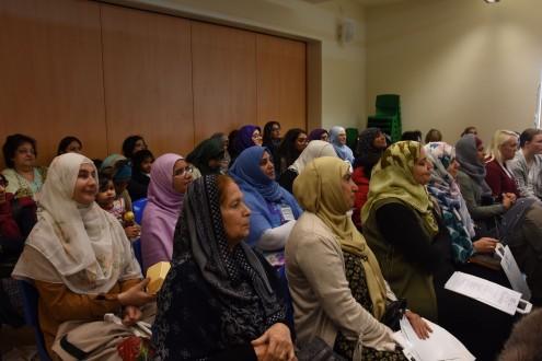 Speakers audience
