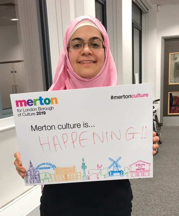Dr Emma Wiley at Merton Council Culture meeting