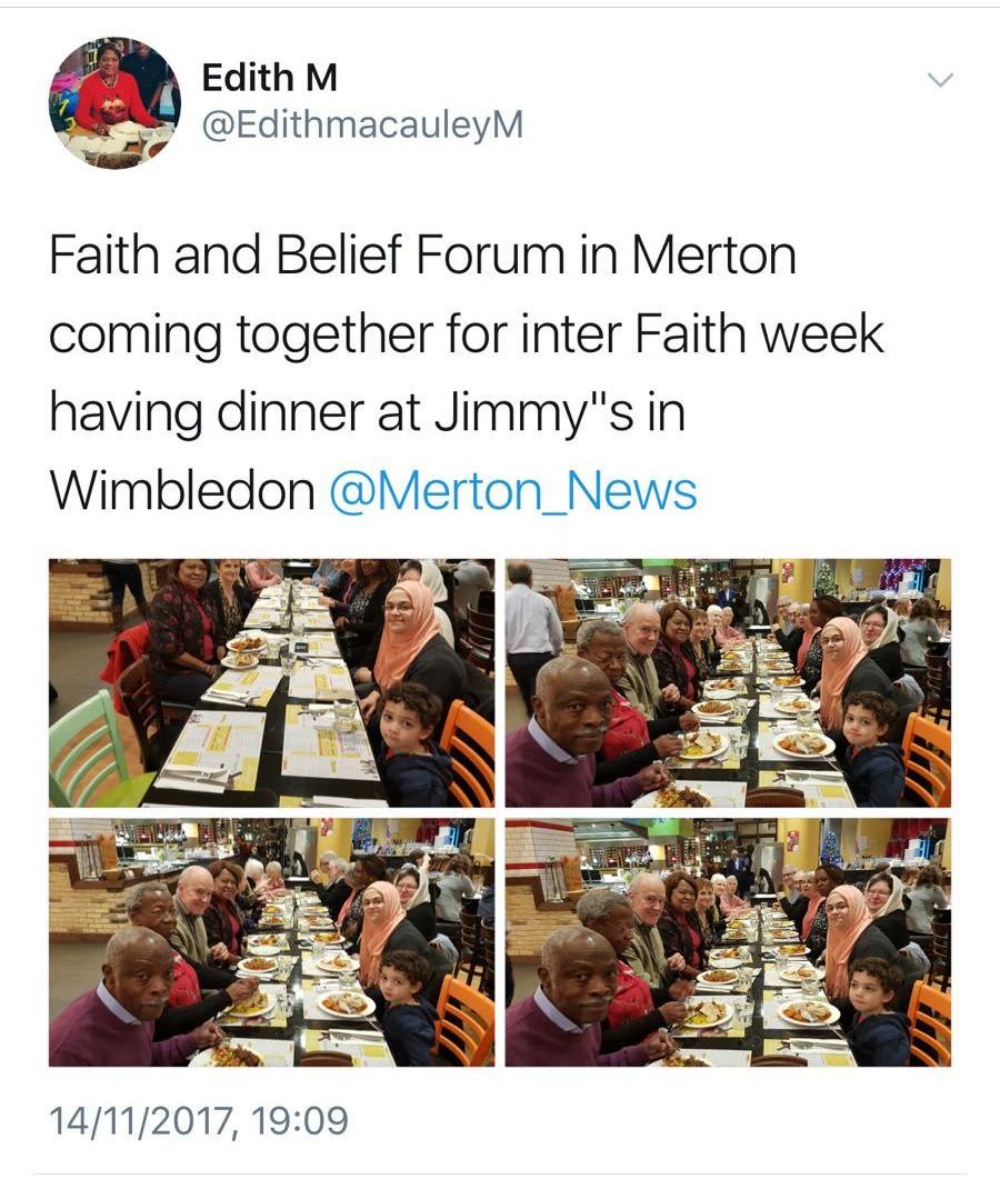 Interfaith Tweet